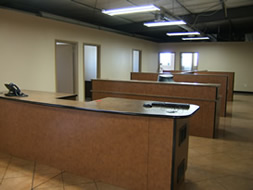 Photo of custom office area