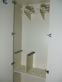 Photo of Fujinon endoscopy storage cabinets