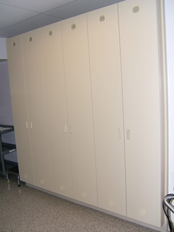 Photo of custom endoscopy storage cabinets