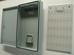 Photo of detachable tray and lock box